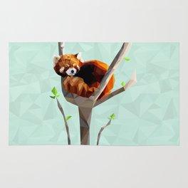 Red Panda Rug