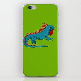 The Phenomenal Iguana iPhone Skin