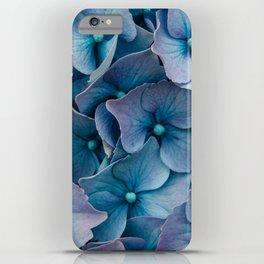 Blue Summer Hydrangeas iPhone Case