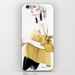 Fashion Illustration by Elina Sheripova iPhone Skin