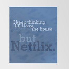 But Netflix Throw Blanket