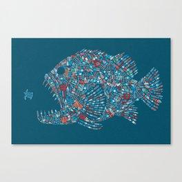 Killer Plastic Canvas Print
