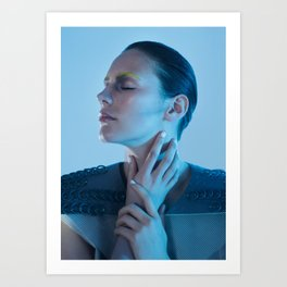 Human machine IIII Art Print