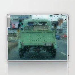 Rainy Days and Vintage Vehicles Laptop & iPad Skin