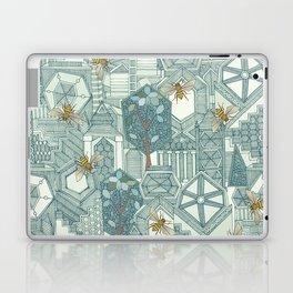 hexagon city Laptop & iPad Skin