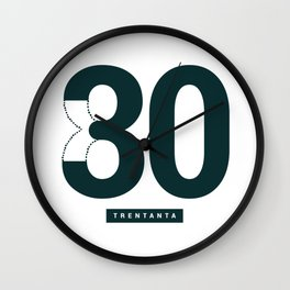 30/80 Wall Clock