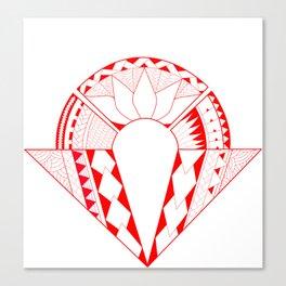tribal creation Canvas Print