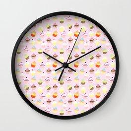 Cupcake Wonderland Wall Clock