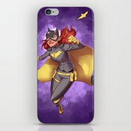 Batgirl of Burnside iPhone Skin