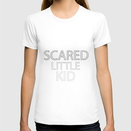 Scared Little Kid T-shirt
