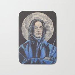 Snape/Alan Rickman Icon Bath Mat
