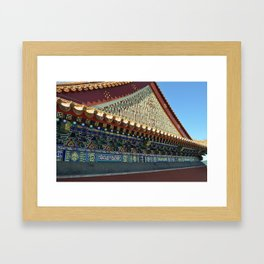 Chinese Architecture Framed Art Print