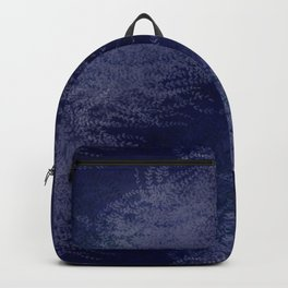 5 Wind-whipped Vines (blue II) Backpack