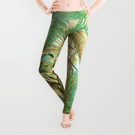 Vintage Tropical #society6 #buyart #painting Leggings