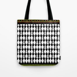 Tribal Ancient Sana'a Patterns by Mo Murshed Pt.7 Tote Bag