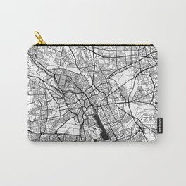 Hanover Map Gray Carry-All Pouch