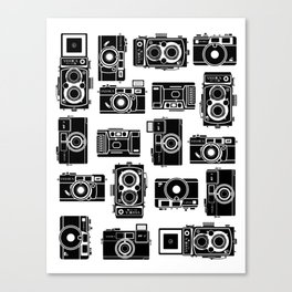 Yashica bundle Camera Canvas Print