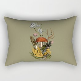 Autumnal Scene Rectangular Pillow