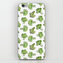 Broccoli - Scattered iPhone Skin