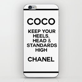 coco quote no. 1 iPhone Skin