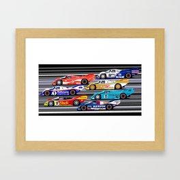 962 parade Framed Art Print