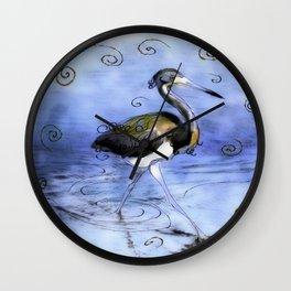 Artfully In Stride Wall Clock
