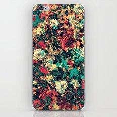 RPE FLORAL V iPhone & iPod Skin