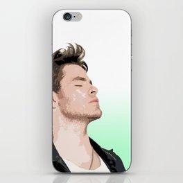 Chris Pine 6 iPhone Skin