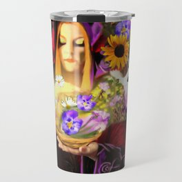Invocating Summer Travel Mug