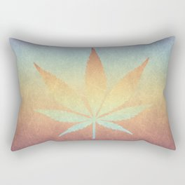 Cannabis sativa Rectangular Pillow