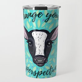 Change Your Perspective White Blaze Travel Mug