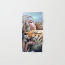 Angel of Tigers Hand & Bath Towel