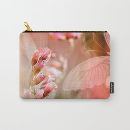 ROSE SPANGLES no5-QF-Butterfly Carry-All Pouch