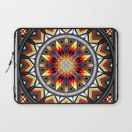 Sacred Places Red Laptop Sleeve