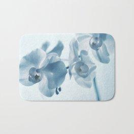 Orchid flowers Bath Mat