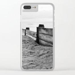 North Sea views Clear iPhone Case