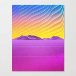 Subsonic Canvas Print