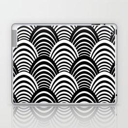 Black and White Art Deco Pattern Laptop & iPad Skin