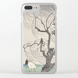 A Gust of Wind by Emil Orlik, 1901 Clear iPhone Case