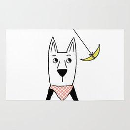 Dogs: Hanna Banana Rug