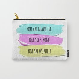 Self Worth Love Carry-All Pouch