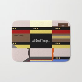 TNG - All Good Things - Minimalist Star Trek TNG The Next Generation 1701 D  startrek  Trektangles Bath Mat