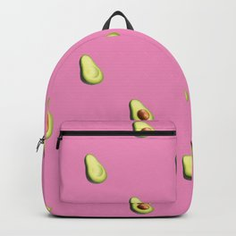 'ave an Avo! | Pink Print Backpack