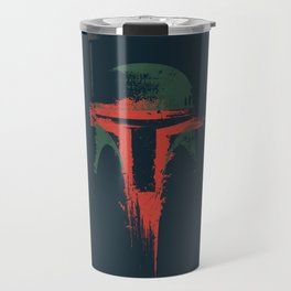 Boba Fett Art - StarWars Fan Painting Travel Mug