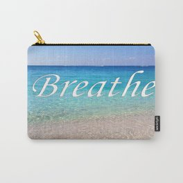 Breathe Cayman Relaxing Beach Waves Carry-All Pouch