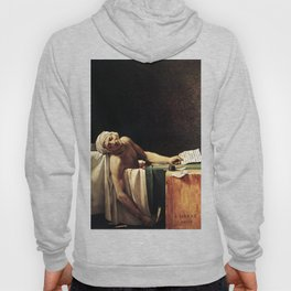 Death of Marat by - Jacques-Louis David Hoody