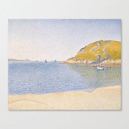 Port of Saint-Cast Canvas Print