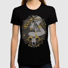 The WITCH Black X-LARGE Womens Fitted Tee