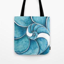 Nautilus Swirl Tote Bag