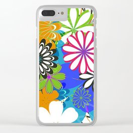 Art Flowers V17 Clear iPhone Case